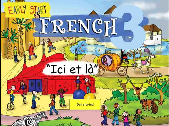 French 3 Title screen